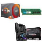 [パーツセット]AMD Ryzen 7 3700X + MSI MPG B550 GAMING PLUS + CFD W4U3200CM-8G 3点セット!