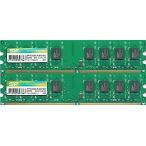 シリコンパワー (Silicon Power) PC2-6400 (DDR2-800) 2GB x 2枚組み 合計4GB 240pin DIMM 4G Kit デスクトップパソコン用メモリ