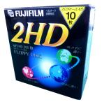FUJIFILM MF2HD256 NK10P 256フォーマット済 クリアケース10枚入り