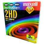 maxell MF2-256HD.B3P 256フォーマット 3.5FD 3枚入り