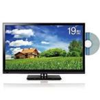 ショッピング液晶テレビ 株式会社レボリューション 液晶テレビ DVDプレイヤー内臓 ZM-19DWB 19インチ