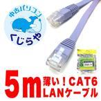 LANケーブル 5m 長い 細い ランケーブ
