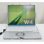 Panasonic Let's note CF-W4GW5AXS  WindowsXP Professional KingSoftOffice2007 リカバリ DVD再生可能 松下 パナソニック 送料無料中古