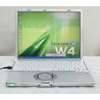 Panasonic Let's note CF-W4JW8AXS  WindowsXP Professional KingSoftOffice2007 リカバリ DVDスーパーマルチ 松下 パナソニック 送料無料中古