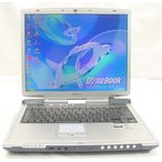東芝 dynabook T6/CMEC Celeron1.80GHz/ 256MB/40GB/WindowsXP KingSoftOffice2007  送料無料中古