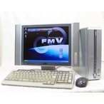 富士通|fujitsu 15型液晶セット FMV-DESKPOWER FMV-CE11A VL-15DX8 kingsoftoffice2007 DVD再生 WindowsXP 送料無料中古