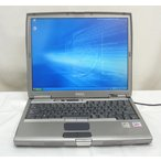無線LAN/DVD再生可能 512MBメモリー Latitude D600 PM 1.5Ghz/60GB WindowsXP KingSoftOffice2007 送料無料中古