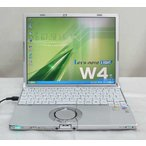 Panasonic Let's note CF-W4HW4AXS  WindowsXP Professional KingSoftOffice2007 リカバリ DVD再生可能 松下 パナソニック 送料無料中古