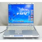 良品  FMV-NB18D/L DVD再生 256MBメモリー WindowsXP KingOffice2007 富士通|fujitsu FMV-BIBLO 送料無料中古
