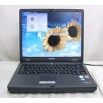 東芝 dynabook Satellite J50 PentiumM 2Ghz 1GBメモリー WindowsXP KingSoftOffice2007 DVDスーパーマルチ キーボード綺麗 送料無料中古