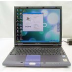 SONY VAIO PCG-GR3F/BP 256MB 30GB OfficeXP DVD再生モデル 送料無料中古