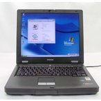 東芝 dynabook Satellite J12 Celeron2.50GHz 512MB 30GB KingSoftOffice2007 DVD-ROM再生OK 送料無料中古