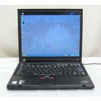 IBM ThinkPad T41(2373-1LJ) WindowsXP Pro 14.1/PM 1.4Ghz/256MB/30GB/DVD スリムなノートPCです送料無料中古