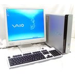 DVDスーパーマルチ 19型液晶セット CeleronD-2.93GHz  SONY VAIO VGC-HX53B  WindowsXP KingSoftOffice2007  送料無料中古