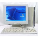 NEC MATE 15型液晶セット PC-MA30V  BUFFALO TFD-X502AS KingSoftOffice2007  WindowsXP PRO DVD再生可能 送料無料中古