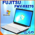 ショッピング中古 中古 ノートパソコン 富士通 LIFEBOOK FMV-R8270 Core2Duo 訳あり 2GBメモリ 12.1型ワイド DVDマルチドライブ Windows7 Kingsoft Office付き