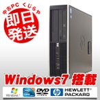 ショッピング中古 中古 デスクトップパソコン HP Compaq 8100Elite Core i3 4GBメモリ DVD-ROMドライブ Windows7 MicrosoftOffice2010