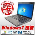 ショッピング中古 中古 ノートパソコン HP ProBook 4520s Celeron Dual-Core 4GBメモリ 15.6型ワイド DVDマルチドライブ Windows7 MicrosoftOffice2003