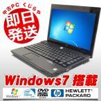 ショッピング中古 中古 ノートパソコン HP ProBook 4310s Celeron Dual-Core 2GBメモリ 13.3型ワイド DVDマルチドライブ Windows7 EIOffice