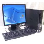 17型液晶セット GX270sff  Kingsoftoffice2007 DVD再生可能  WindowsXP Pro SAMSUNG SynkMaster740N  DELL OPTIPLEX GX270sff送料無料中古