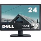 Dell 24������磻��LED�վ���˥� U2412Mb IPS�ѥͥ� 1920x1200 ���̲�ž �⤵Ĵ�� ��ťǥ����ץ쥤 �����Ĥ�