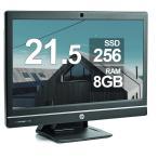 HP 21.5型液晶一体型AIO ProOne 600 第四世代Core i5 8GBメモリ 新品SSD256GB 正規版Office付き Windows10 中古一体型AIO