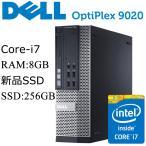DELL OptiPlex 9020 SFF 第四世代Core i7-4770 8GBメモリ 新品SSD256GB Office付き Win10 中古デスクトップパソコン