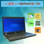 ショッピング中古 中古パソコン 中古ノートパソコン DELL LATITUDE E5510 Celeron /2GB/160GB/無線/マルチ/Windows7