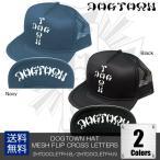 DOGTOWN HAT MESH FLIP CROSS LETTERS [2HTDOCLETFH-B][2HTDOCLETFH-N] ドッグタウン スケート 西海岸 パンク メッシュキャップ フリップアップ