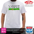 VANS(バンズ) MENS NINTENDO DUCK HUNT SHORT SLEEVE TEE(VN0A2Z6NWHT) Tシャツ【クリックポストなら送料無料】 プレゼント ギフト
