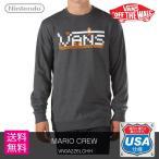 VANS(バンズ) NINTENDO×VANS MARIO CREW (VN0A2Z6LCHH) スーパーマリオ スウェット プレゼント ギフト