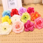 5個以上送料無料  ローズヘッド 薔薇 フェイクフラワー 造花 バラ ハンドメイド作品 インテリア イミテーション ディスプレイ