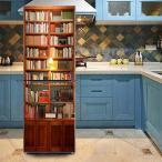 冷蔵庫ステッカー トリックアート 本棚 アンティーク 家具 だまし絵シール インテリア DIY リメイク