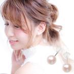 国産 アコヤ 真珠 本物 1粒 ピアス 約7.0mm ホワイトゴールド K14WG 6月誕生石 本真珠 送料無料