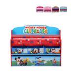 ショッピングおもちゃ DELTA デルタ DELUXE BOOK & TOY ORGANIZER デラックス ブック & トイ オーガナイザー TB849 本棚 おもちゃ箱