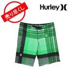 ハーレー Hurley メンズ 水着 サーフパンツ ボードショーツ 32インチ トランクス 海パン ハーフパンツ カタリナ MBS0000650 グリーン Boardshorts CATALINA