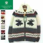 Canadian Sweater Company(カナディアン セーター カンパニー) FULLZIP HAND KNIT COWICHAN SWEATER(フルジップ ハンドニット カウチン ) カナダ製