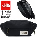 【THE NORTH FACE ザノースフェイス】  ボディバッグ LUMBAR PACK  NF0A3KY6 KS7-OS【 送料無料 】バッグ 男女兼用
