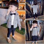 スーツ男児子供スーツフォーマル男の子タキシードセットアップ七五三結婚式発表...