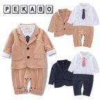 カバーオール ベビー服 赤ちゃん スーツ フォーマル