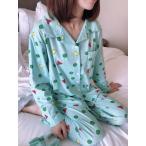 Lサイズ クレヨンしんちゃん パジャマ 3点セット グリーン