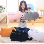【送料無料】 ねこ クッション ネコ 抱き枕 猫 ぬいぐるみ にゃんこ 可愛い インテリア 雑貨 プレゼント ギフト 彼女 人気40cm