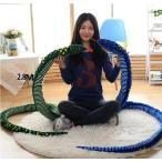 【送料無料】ぬいぐるみ 蛇 へび 長いヘビ 縫いぐるみ プレゼント お芝居道具 ギフト