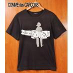 コム・デ・ギャルソン オム プリュス 半袖Tシャツ ブラック メンズS相当