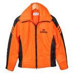ヴィンテージ 1980年代 adidas アディダス スキージャケット ナイロンジャケット オレンジ×ブラック レディースS相当