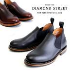 サイドゴア ローカット メンズ チェルシーブーツ ロメオ カジュアルシューズ 本革 短靴 グッドイヤー・ウェルト製法