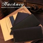 財布 メンズ 長財布 札入れ 小銭入れなし Hackney ハックニー ブライドルレザー&イタリアンレザー HK-102