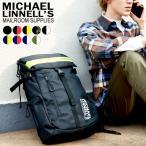 メンズ レディース リフレクター ビッグ バックパック 30L ブラック ネイビー カーキ MICHAEL LINNELL マイケルリンネル ML-008