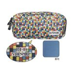 OUTDOOR PENCIL CASE R/M OD9【POLYSTER レッドモザイク】 サンスター文具 S1409204