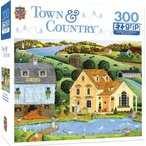 MasterPieces Town & Country The White Duck Inn - Inn with Pond Large 3